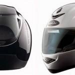 Мотоциклетный шлем Reevu MSX1 с зеркалом заднего вида