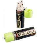 Аккумуляторы AA с зарядкой от usb