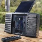 Soulra колонки для iPod, на солнечных батареях