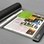 eRoll концепт электронной книги будущего