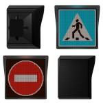 Прогрессивные дорожные знаки