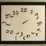 Shattered Clock, настенные часы рожденные из хаоса