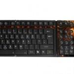 Накладная панель в посвященная грядущей World of Warcraft: Cataclysm, для клавиатуры SteelSeries Shift