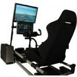 Cockpit Flight Simulator, настоящая кабина самолета, для виртуальных пилотов