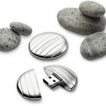 Galet, USB флешка в серебренном корпусе