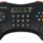 COOL GAMER CALCULATOR, смесь калькулятора и  игрового контроллера