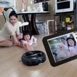 Робот пылесос Samsung TangoView, с видеокамерой