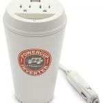 Стакан для кофе ставший автомобильным  преобразователем переменного тока