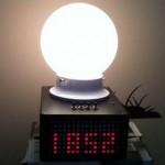 DIY Sunrise Alarm Clock, еще одни необычный будильник