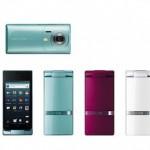 Sharp AQUOS Phone The Hybrid 007SH, первый в мире Android  смартфон раскладушка, первый в мире Android  смартфон раскладушка