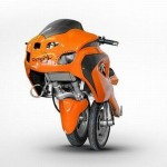 Uno III трехколесный мотоцикл, сошедший с экраае фильма о Трансформерах