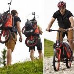 Скутер Bergmönch  для скоростного спуска с гор