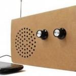 Картонный радиоприемник