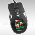 Компьютерная мышь с дисплеем