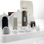 Memory City, подставка для USB флешек и карт памяти