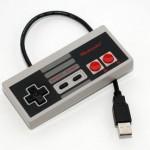 USB флешка в виде джойстика от игровой приставки NES