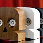 Дизайнерская акустическая система MinuSkull