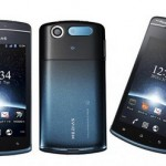 Водозащищенный смартфон NEC Medias PP N-01D