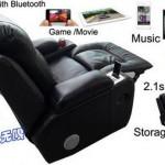 iSeat, высокотехнологичное кресло для любителей музыки