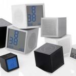 Дизайнерский гибрид часов-колонками LEXON Prism