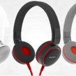 Представлены новые модели наушников Sony весны  2012 года