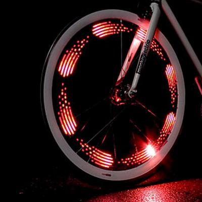 Как сделать подсветку на колеса для велосипеда 694