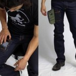 Джинсы для гиков со специальным карманом для мобильных телефонов
