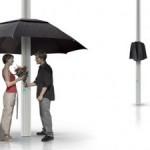 Lampbrella,  фонарный столб — зонтик