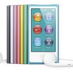 Представлен новый плеер iPod nano