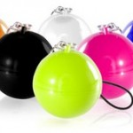 Миниатюрные вибрационные колонки в виде шариков