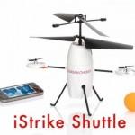 iStrike Shuttle – вертолет на радиоуправлении с мячиками для пинг-понга в виде бомбочек