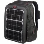 с солнечными батареям, поможет зарядить ноутбук в походных условиях