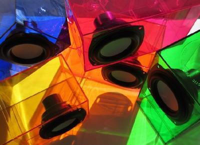 ColorSonik Computer Speakers