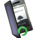Чехол для Amazon Kindle 4  с солнечными батареями