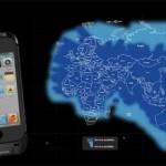 Док Thuraya SatSleeve позволяет звонить с iPhone через спутники