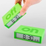 Необычный будильник Flip Alarm Clock
