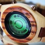 Часы с деревянным корпусом от Tokyoflash