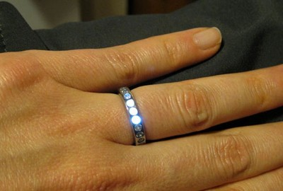 LED engagement ring