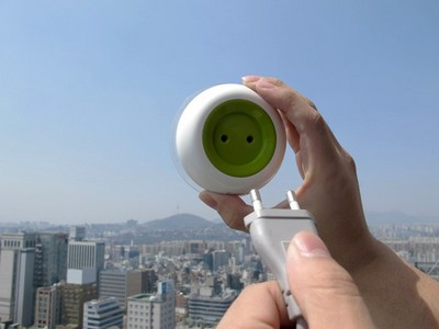 Solar Window Socket