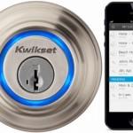 Умный дверной замок UniKey который можно открывать ключами или дистанционно с помощью мобильных устройств