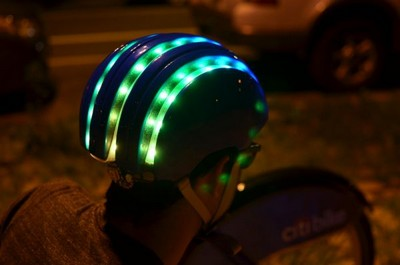 Citi Bike Smart Helmet