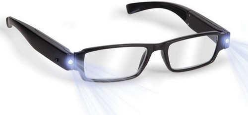 Hammacher Rechargeable LED Reading Glasses