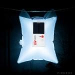 LuminAID: пакет-лампа для экстремальных ситуаций