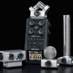 Портативный рекордер Zoom H6 позволяющий записывать 6-канальный звук  уже появился в продаже