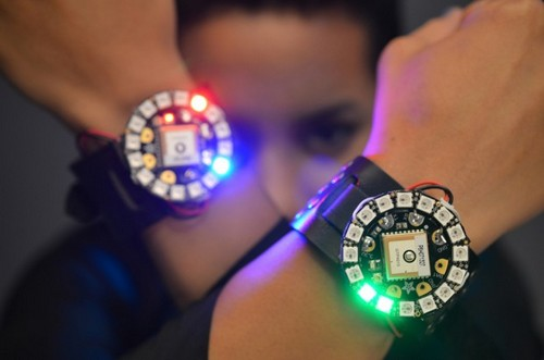 Adafruit DIY LED Watch