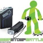 Mega Stomp Battle  — озвучит игры детей когда они представят себя  супергероями