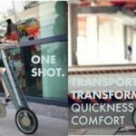 One Shot — складной городской велосипед