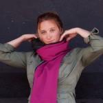 Шарф RainScarf спасет вас от дождя