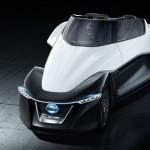 Nissan  представили электрический концепт-кар BladeGlider треугольной формы