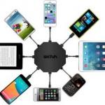 Зарядной устройство Octafire 8 Port Turbo Smart USB Charger позволяет заряжать 8 гаджетов одновременно